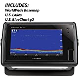 Garmin 010-01102-01 GPSMAP 741xs without Transducer Includes Worldwide Basemap, U.S. lakes and U.S. BlueChart g2