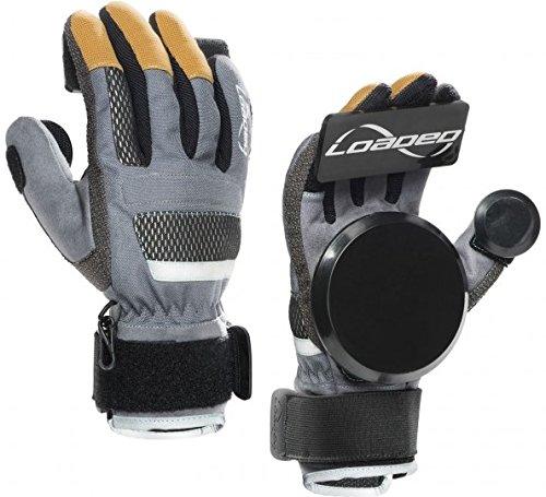 Loaded Longboard Freeride Slide Gloves Version 7.0 With Pucks Size Large