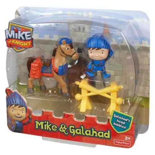 Fisher-Price Mike the Knight - Mike and Galahad Figure Pack