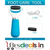 BEST DEALS - Pedicure Velvet Smooth Express Pedi Electronic Foot File Pedicure Tool Also Works With USB Cable