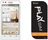 【Amazon.co.jp 限定】So-net PLAY SIM(micro)+Huawei SIMフリースマートフォン Ascend G6 ホワイト <容量2GB・月額880円~>