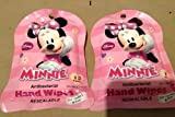 Disney Minnie Mouse Hand Wipes - 2 Pack