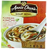 Annie Chun's Kimchi Soup Noodle Bowl, 174 ml Bowls (Pack of 6)