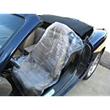 Disposable Plastic Auto Seat Covers - Roll of 250