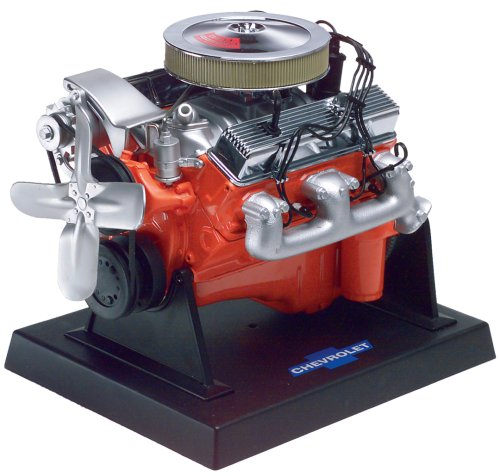 Revell 85-1566 Metal Body 350 C.I. LT-1 Chevy Small Block Engine Model Kit (1 10 Model Engine compare prices)