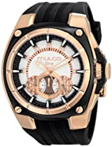 MULCO Unisex MW1-29786-023 Analog Display Swiss Quartz Black Watch