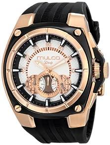 buy Mulco Unisex Mw1-29786-023 Analog Display Swiss Quartz Black Watch