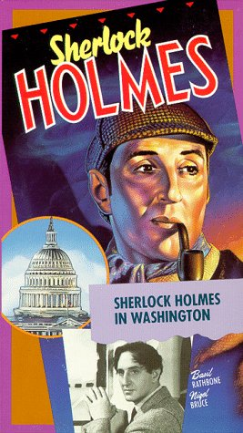Sherlock Holmes in Washington on DVD