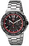 TAG Heuer Mens CAU1116.BA0858 Formula 1 Black Dial Stainless Steel Watch