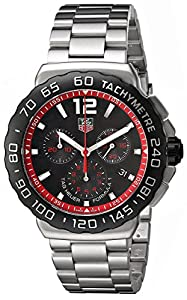 TAG Heuer Men's CAU1116.BA0858 Formula 1 Black Dial Stainless Steel Watch