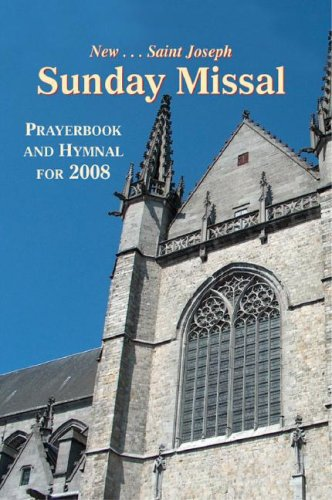 New St. Joseph Sunday Missal Prayerbook and Hymnal