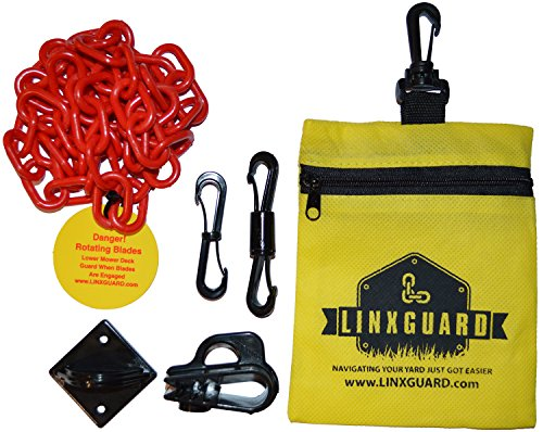 Linxguard Lawnmower Deck Guard Deflector Positioner - Replaces Unsafe Use Of Bungee Cords front-95066