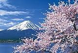 【Amazonの商品情報へ】450スモールピース 達人検定マスターピース 桜色の季節 富士山―山梨 46-203
