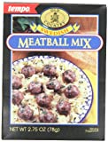 Tempo Swedish Meat Ball Mix, 12-Count Box of 2.75-Ounce Packets
