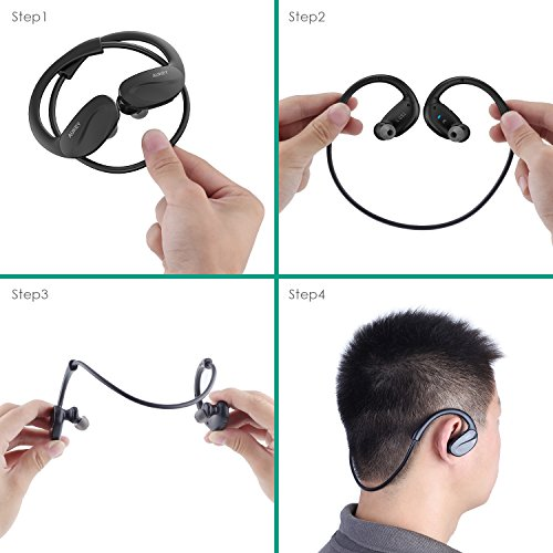 Wireless headphones bluetooth aukey - wireless bluetooth headphones v4.1