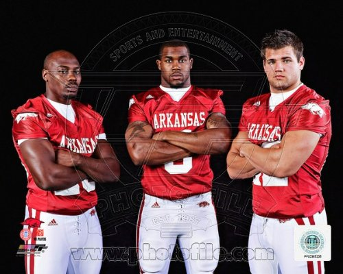 University of Arkansas Razorbacks Darren McFadden, Felix Jones, Peyton Hillis 8x10 Photo at Amazon.com