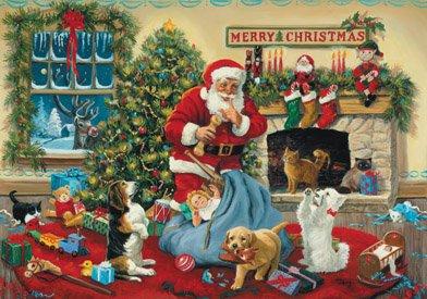 Vermont Christmas Company Santa's Beggars Advent Calendar - 1