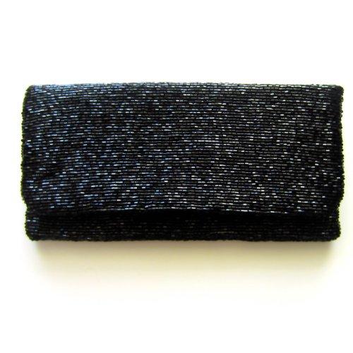 MoynaMoyna Black Clutch