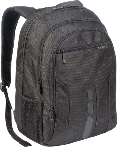 Targus Chromatic Backpack Case for 16-Inch Laptops TBB060US and 3-Button Optical USB Mouse AMU51US Bundle (BUS0239)