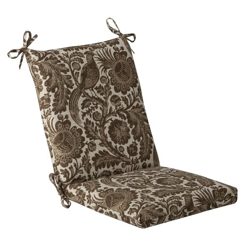 PILLOW PERFECT INDOOR OUTDOOR CHAIR CUSHION SQUARED