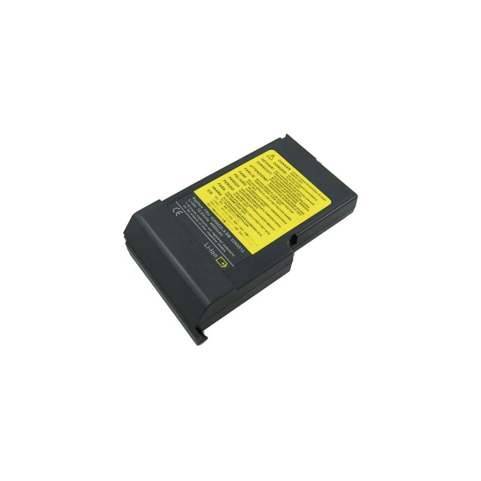 Battery for IBM ThinkPad 390X 390E 02K6513 02K6535, New Battery for IBM ThinkPad 390 i1700 Series Laptop 02K6520