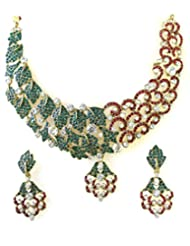 MODERN STYLISH NECKLACE SET BY ZAVERI PEARLS - ZPFK1313