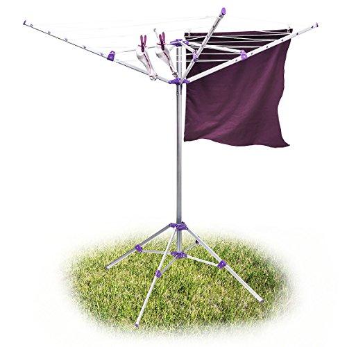 S choir d 39 39 exterieur entretien du linge comparer les prix - Seche linge parapluie ...