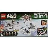 LEGO STAR WARS 66449 - SUPER PACK 3 EN 1
