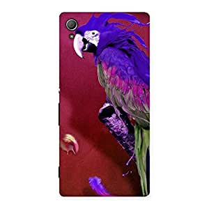 Magic Parrot Back Case Cover for Xperia Z4
