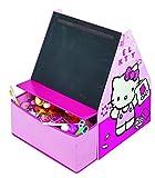 Worlds Apart 482HTT Hello Kitty Kindertafel sowie Aufbewahrungsmöglichkeit