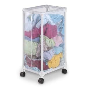 woolite mesh laundry hamper with wheels. Black Bedroom Furniture Sets. Home Design Ideas