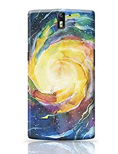 PosterGuy OnePlus One Case Cover - Space Spiral Space, Art, Painting, Milky Way
