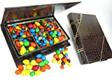 Father's Day Gift, Book, Journal, Novel, N.y. Times Best Seller List, Book Include Chocolate M&ms, Covered Peanuts, Covered Peanuts, Peanut Butter, Almonds, Milk Chocolate, Dark Chocolate, and More