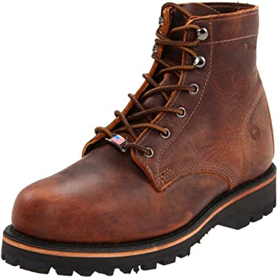 "Wolverine Men's Plainsman 6"" Work Boot"