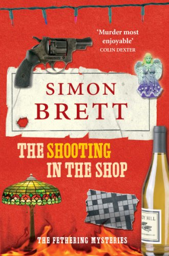 The Shooting in the Shop. by Simon Brett
