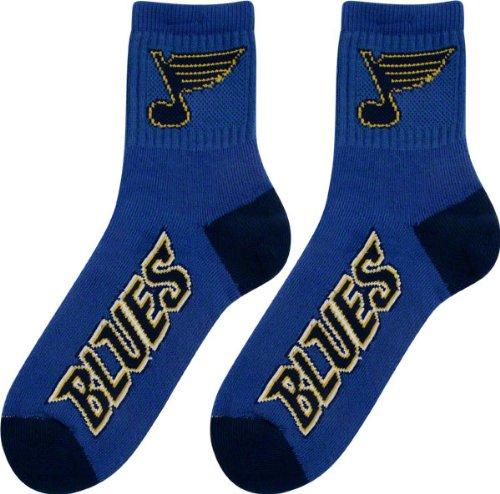 St. Louis Blues Team Color Quarter Socks