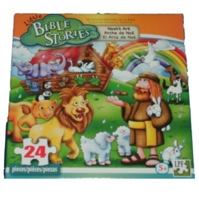 Little Bible Stories Noah's Ark 24 Piece Puzzle - 1