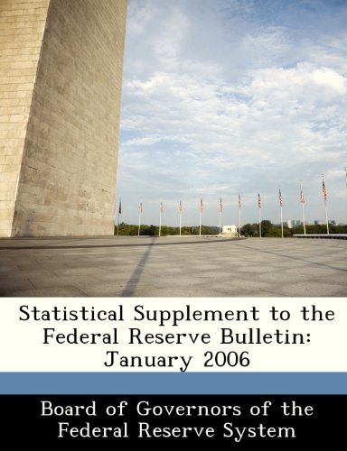 Statistical Supplement to the Federal Reserve Bulletin: January 2006
