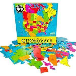Geopuzzle North America