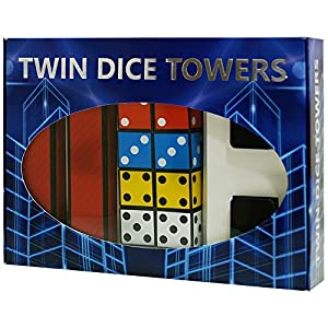 MMS Twin Dice Towers by Joker Magic - Trick