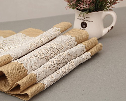 kailo-table-runner-burlap-lace-table-runner-natural-jute-for-wedding-party-table-decoration-30180-cm