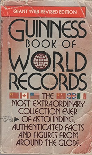 Guinness Book of World's Records (Giant 1988 Revised Edition)