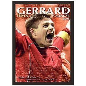 Football - Calendar Steven Gerrard 2008 from Happyfans