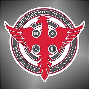 Adesivo 30 Second to Mars hip hop rap jazz hard rock pop funk sticker   recensioni