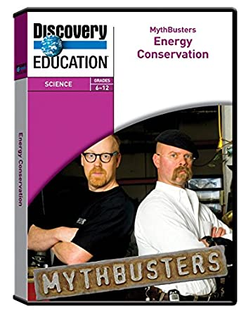 Discovery Education MythBusters: Energy Conservation DVD