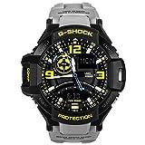 Casio G-Shock GA-1000-8A Aviation Series Mens Luxury Watch - Grey / One Size