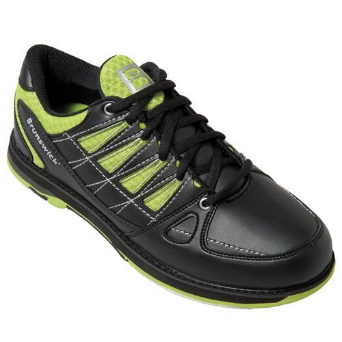 arrow-mens-brunswick-bowling-shoes-black-lime-black-lime-size75-by-brunswick