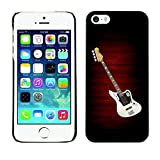 Smartphone Protective Case Hard Shell Cover for Cellphone Apple Iphone 5 5S CECELL Phone case Electric Guitar Minimalist B W