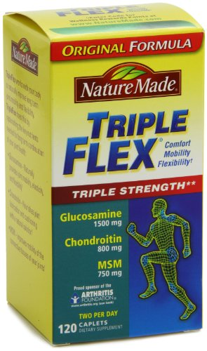 Nature Made Triple Flex, Glucosamine 1500 mg, Chondroitin 800 mg