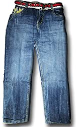 Topchee Kids' Jeans (JNK-18_Blue_3 to 4 Years)